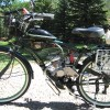 Motorized Bicycle With SBP 7 Gear Shifter 80cc - 2 Stroke <i>(Margaritaville)</i>